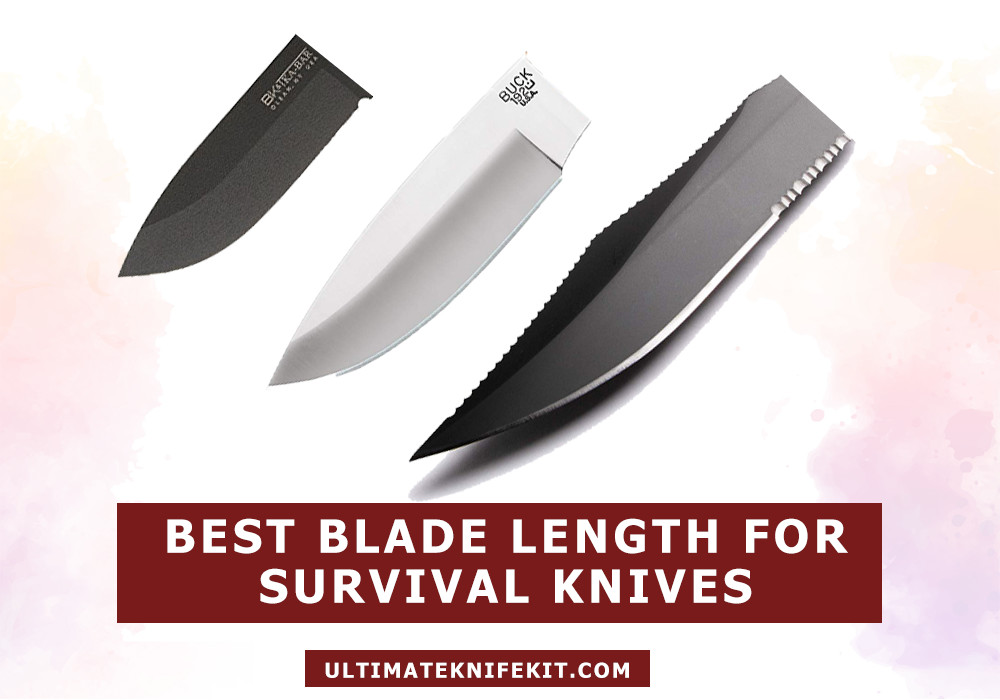 Best blade length for survival knife