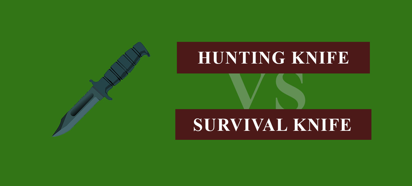survival knife vs hunting knife
