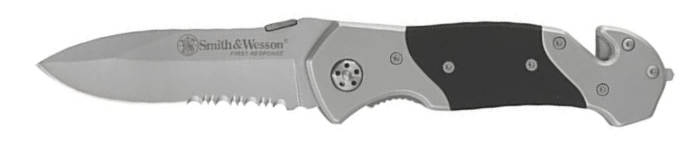 Smith & Wesson SWFRS 8in High Carbon S.S. Folding Knife