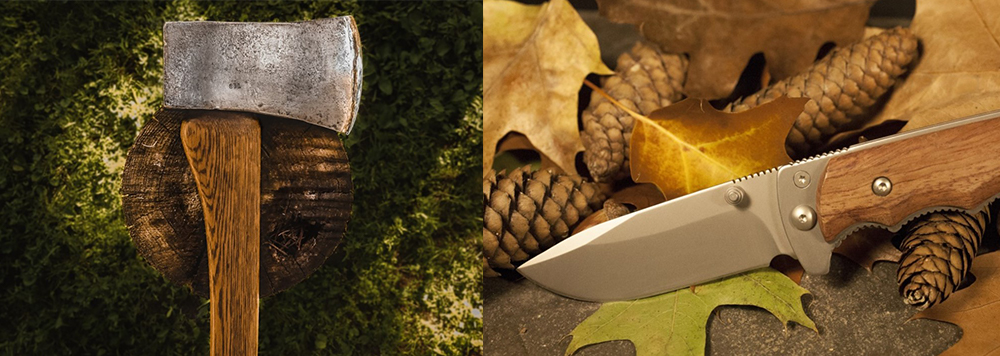 survival knife vs hatchet which one is better